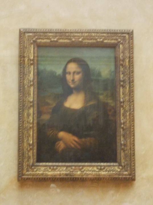 Seeing the Mona Lisa was high on my list