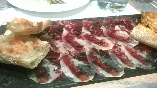 No meal is complete without delicate slices of Jamón...