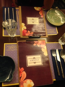 The pretty menu